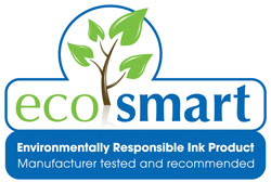 Go Green with Ecosmart, Environmentally Friendly Printer's Ink